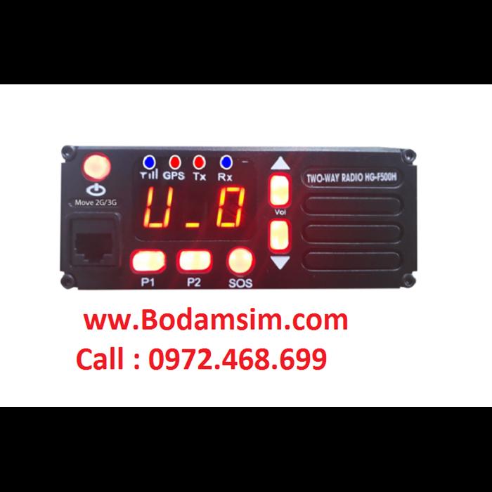 BỘ ĐÀM TRẠM HG-F500H  DÙNG SIM 3G