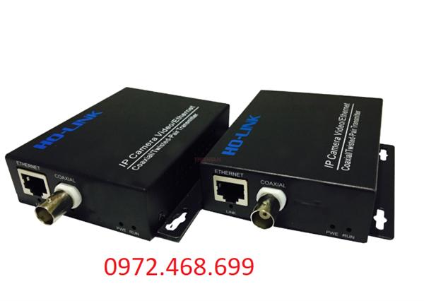 Bộ chuyển đôi Camera Ip qua cáp đồng trục IP /BNC