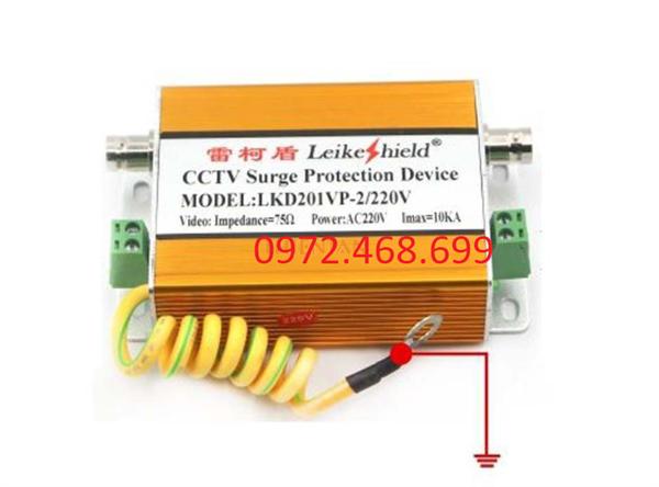 Thiết bị chống sét camera kèm nguồn điện LKD201VP / 2 220V