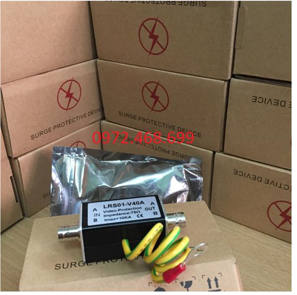 Thiết bị chống sét Camera LRS01- V40A