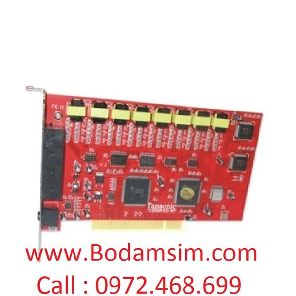 Card ghi âm điện thoại tansonic 16 line TX2006P312-16A